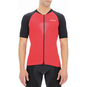 UYN Granfondo Shortsleeve Biking Shirt Men, rosso/nero